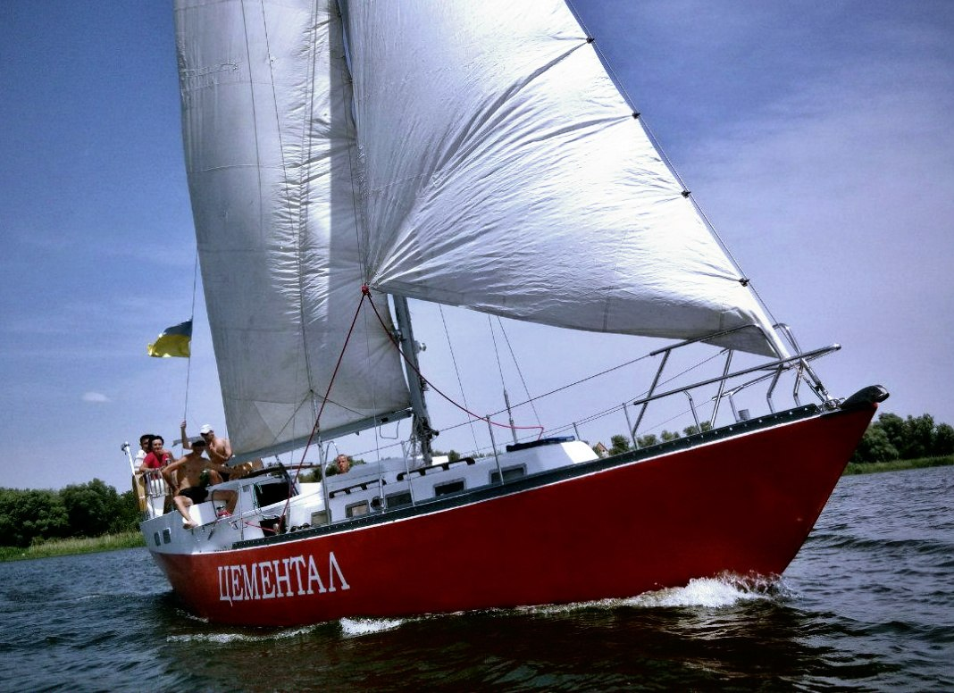 Парусная яхта Цементал Днепропетровск  (4)
