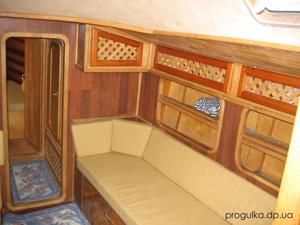 аренда прокат парусной  яхты днепропетровск Лотос   отдых на яхте