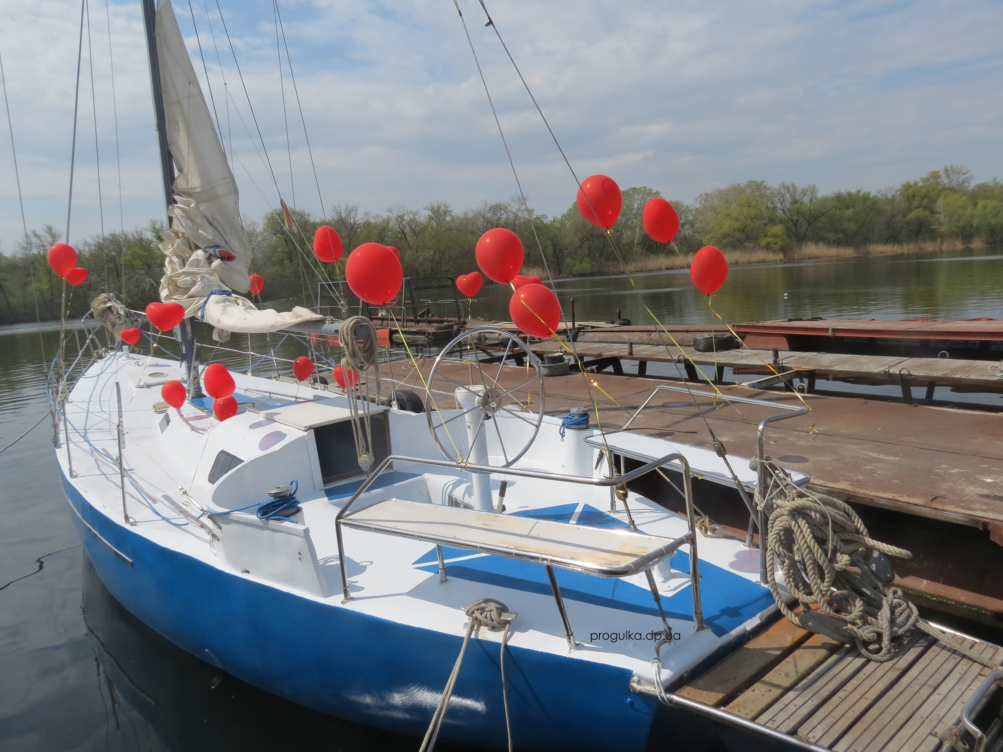 яхта мурена Днепропетровск   (4)