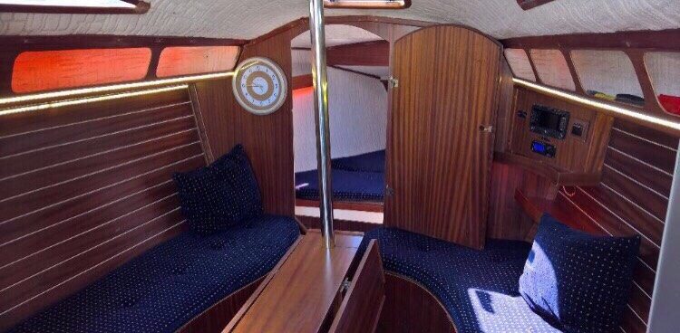 Twister 33 Аренда яхты в Днепропетровске  4