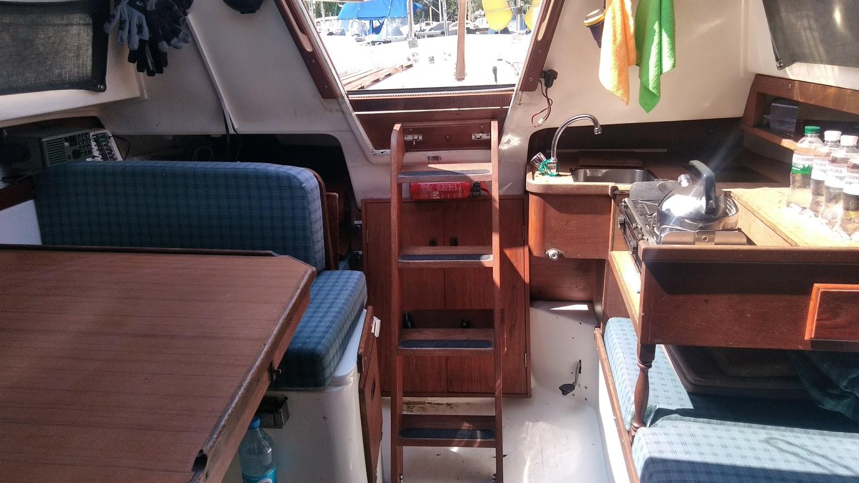 Прогулка на яхте Сторми  Днепр (2)